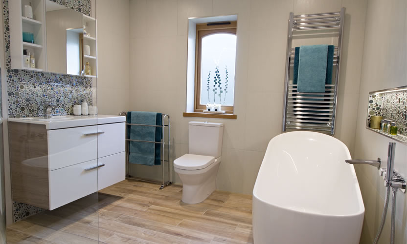 Interior contemporary Bathroom
