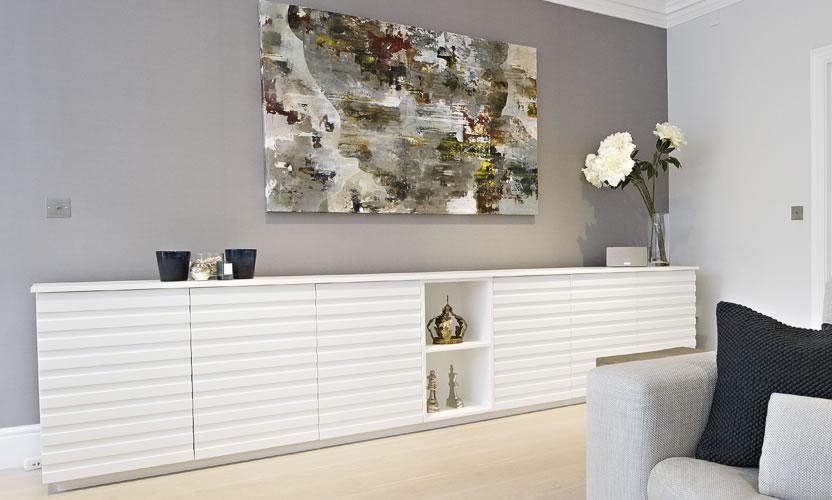 Bespoke White Sideboard Cobham