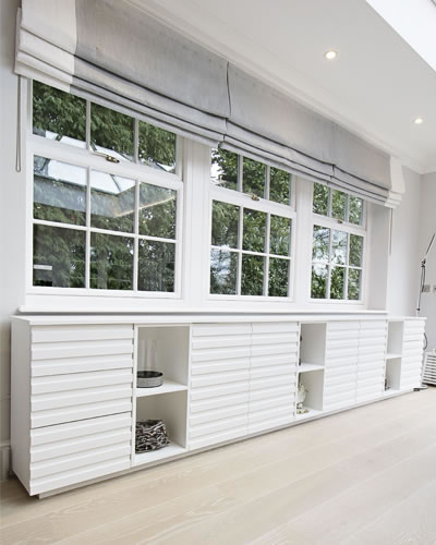 Extra Wide Sideboard White