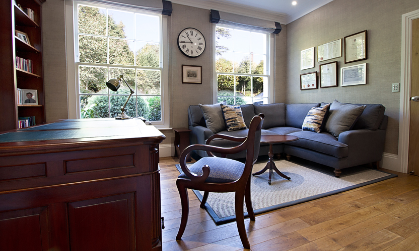 interior design projects designing a masculine home fice Complete Interior Design, Procurement and Project Management for a Home  Office in Reigate, Surrey.
