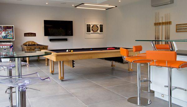 Modern Games Room